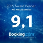 Booking Award 2015 - Villa Anita Guesthouse